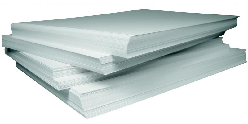 plastificare fogli di carta