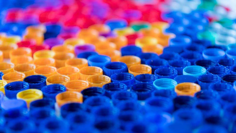 stampa su plastica